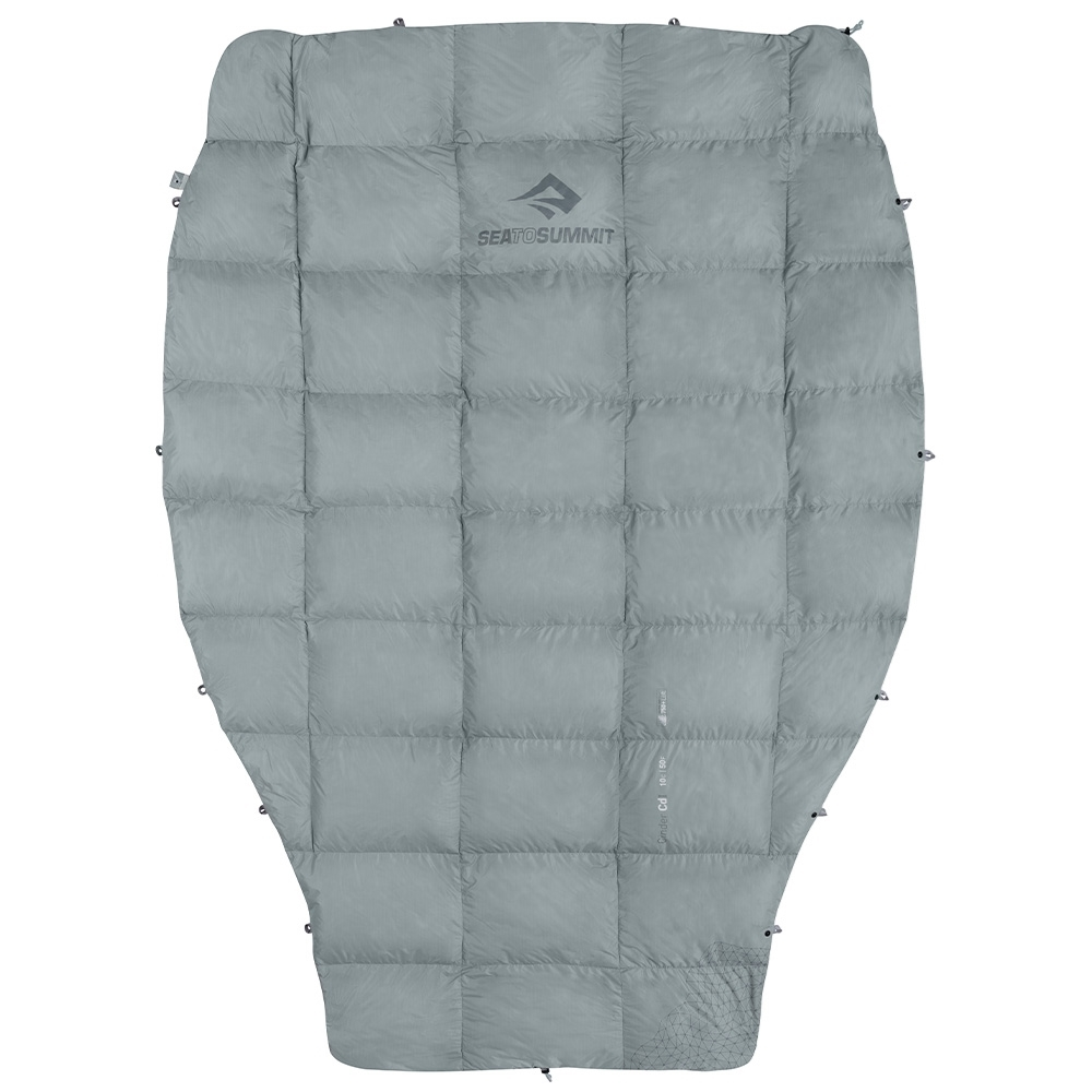 Sea To Summit Cinder Cd1 Down Quilt - Lightweight and packable summer quilt