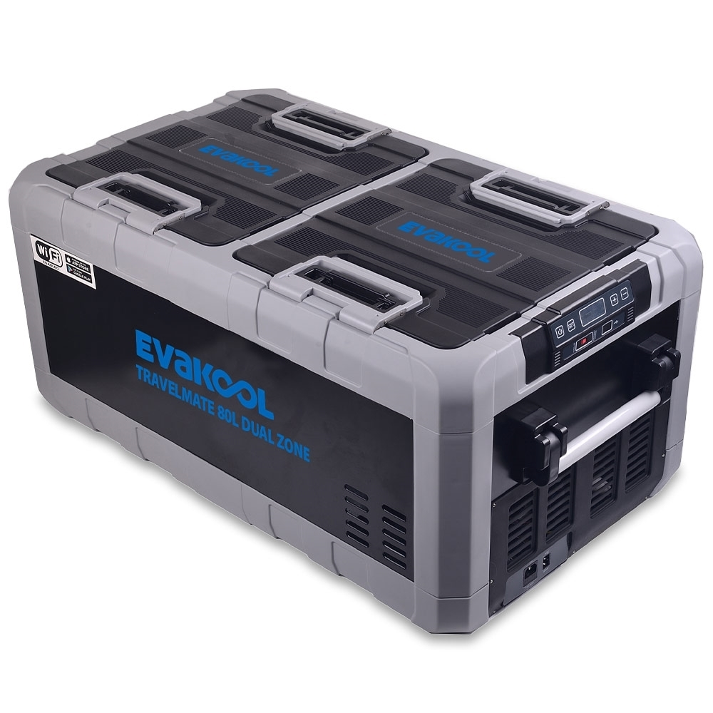 Evakool TMDZ 80 Travelmate Dual Zone Fridge Freezer