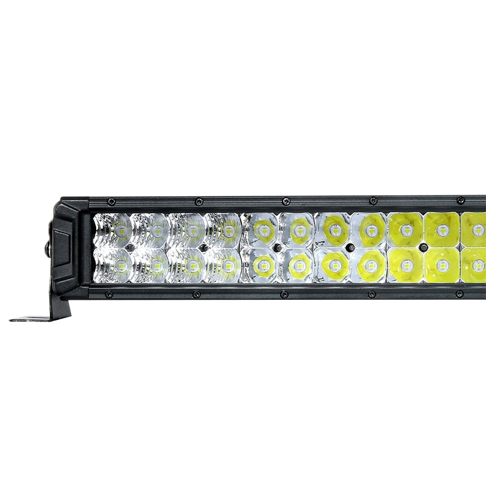 "Hard Korr Lifestyle 22"" Dual Row LED Light Bar - Wide, even combination beam"