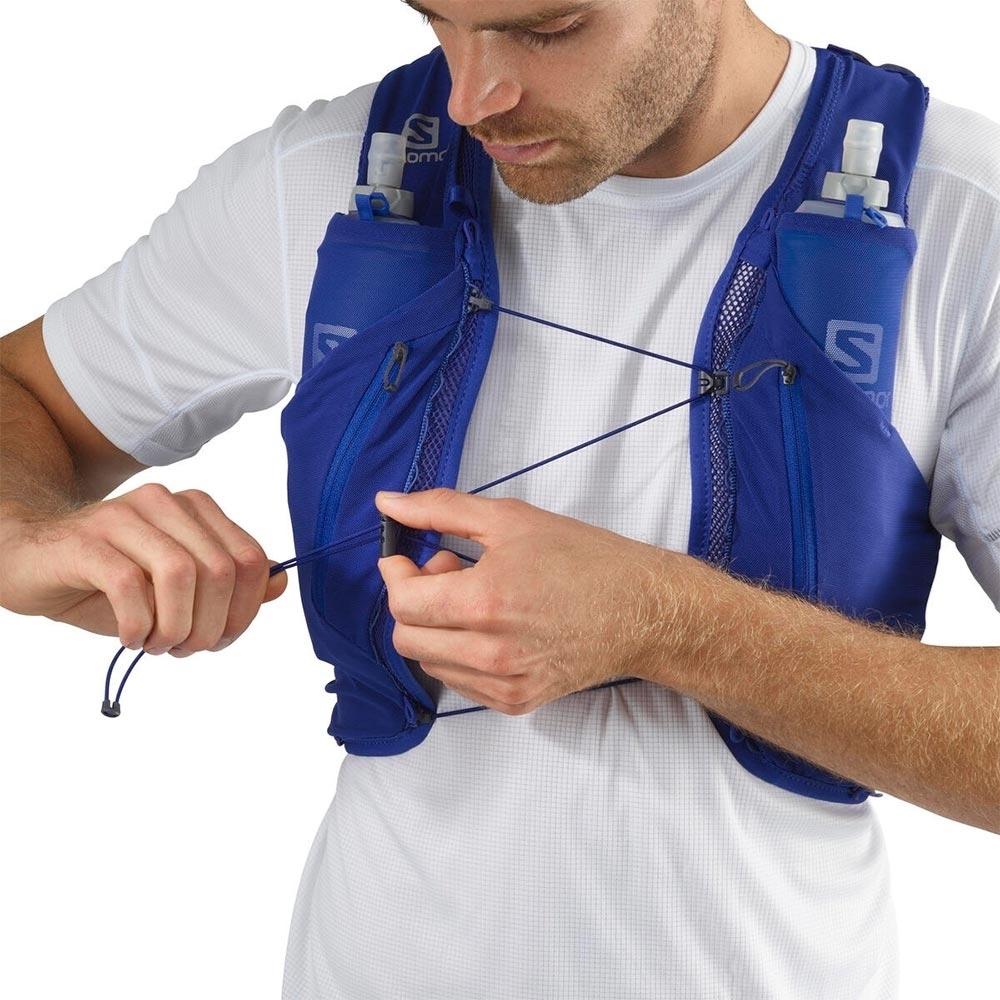 Salomon Advanced Skin 12 Set Hydration Pack - Quick link sternum strap