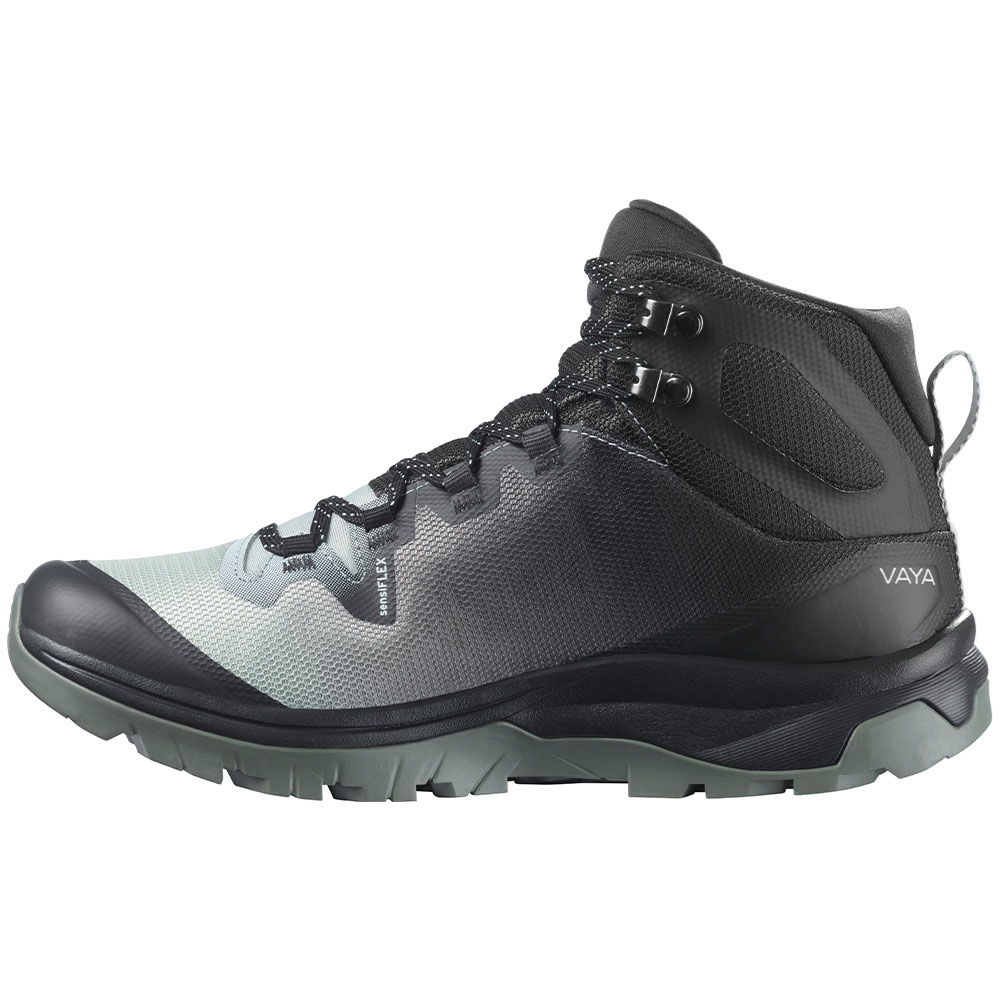 Salomon Vaya Mid GTX Wmn's Boot - Stitch-free upper construction provides a smooth, glove-like, fit and feel