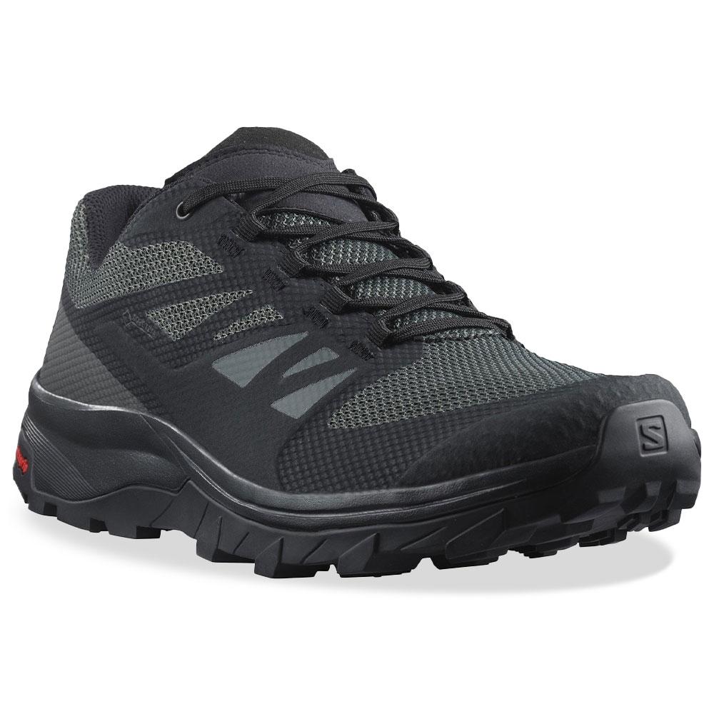 Salomon Outline Wide GTX Men's Shoe Black Phantom Magnet
