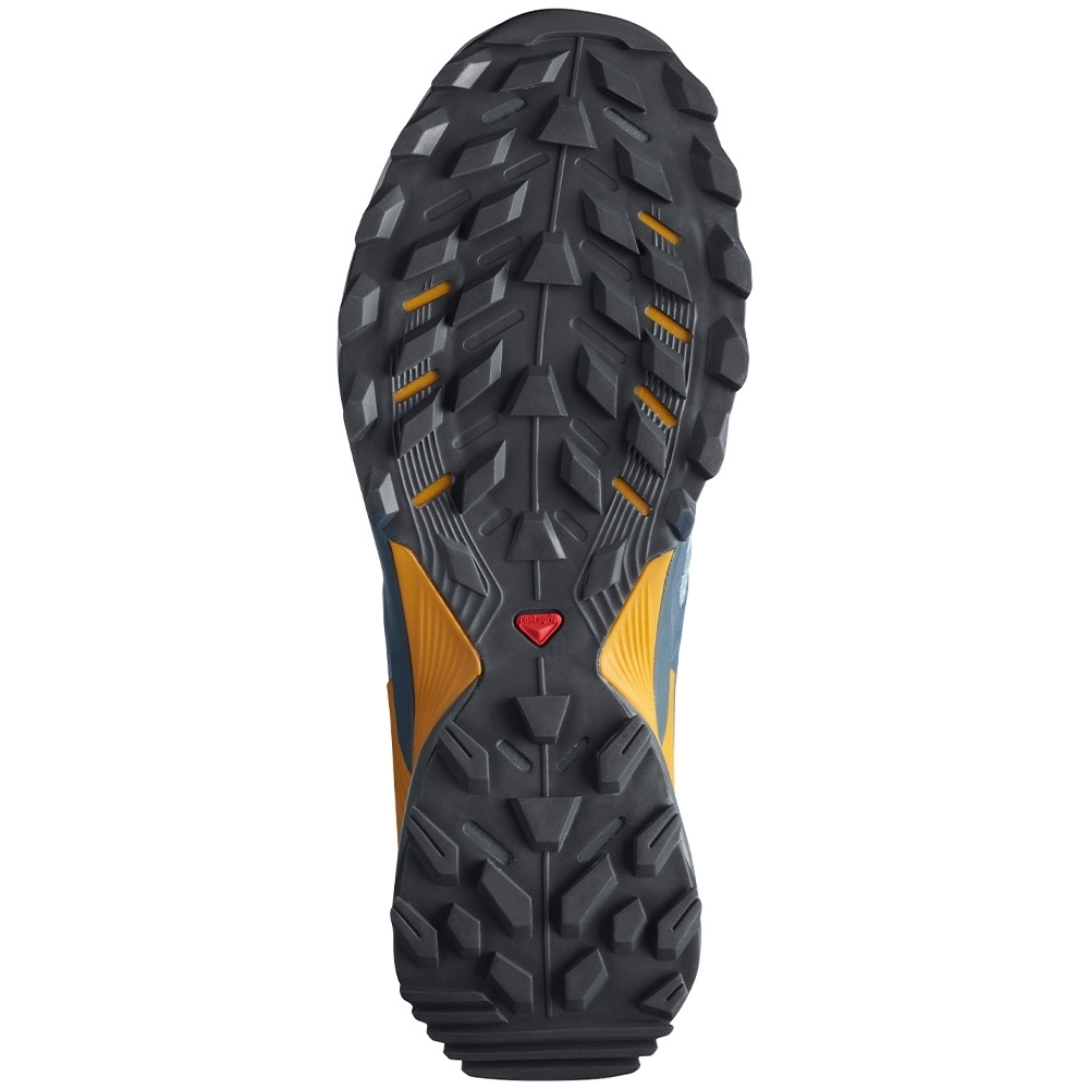 Salomon Wings Sky Men's Shoe - Contagrip® TA sole provides maximum grip on loose, soft, rugged, and uneven surfaces