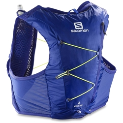 Salomon Active Skin 4 Set Clematis Blue Safety Yellow