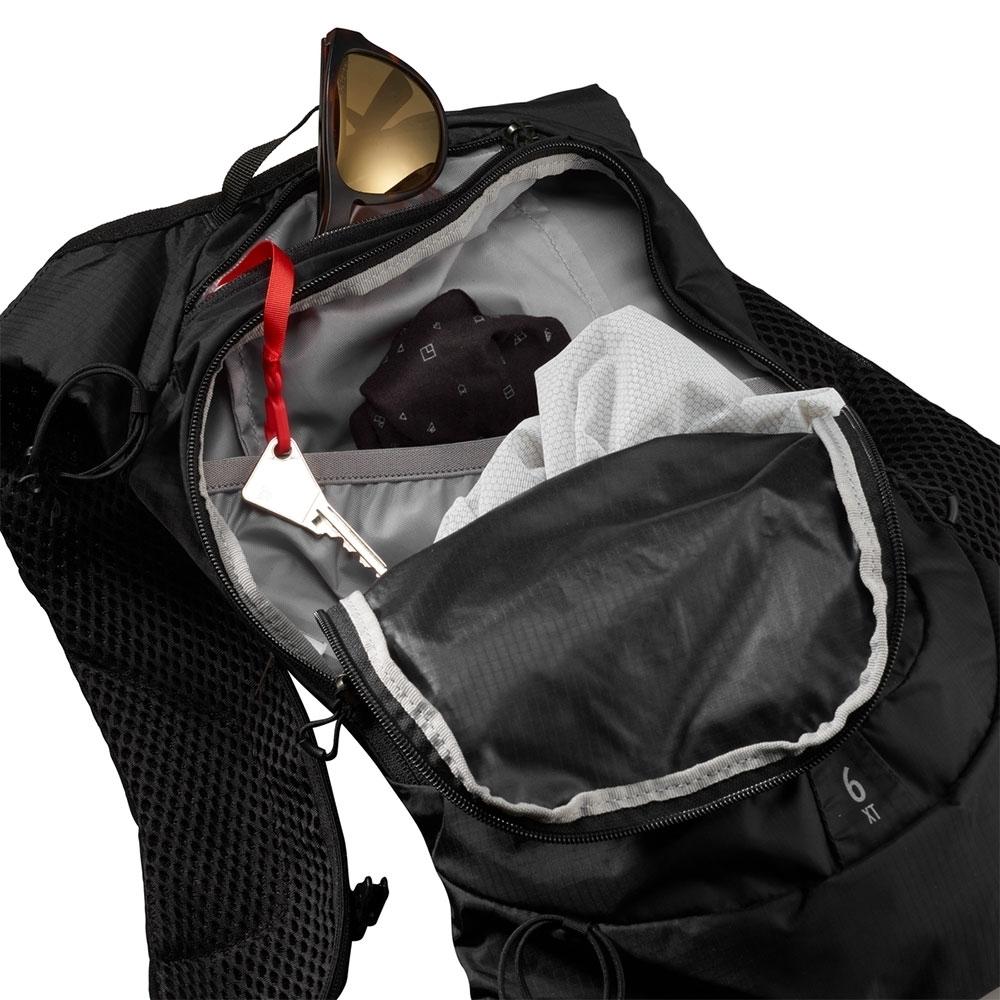 Salomon XT 6 Hydration Pack - Top external zipped pocket