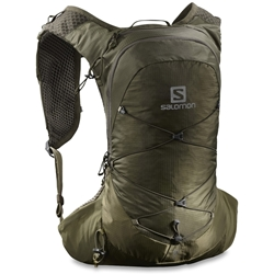Salomon XT 10 Hydration Pack Olive Night Martini Olive