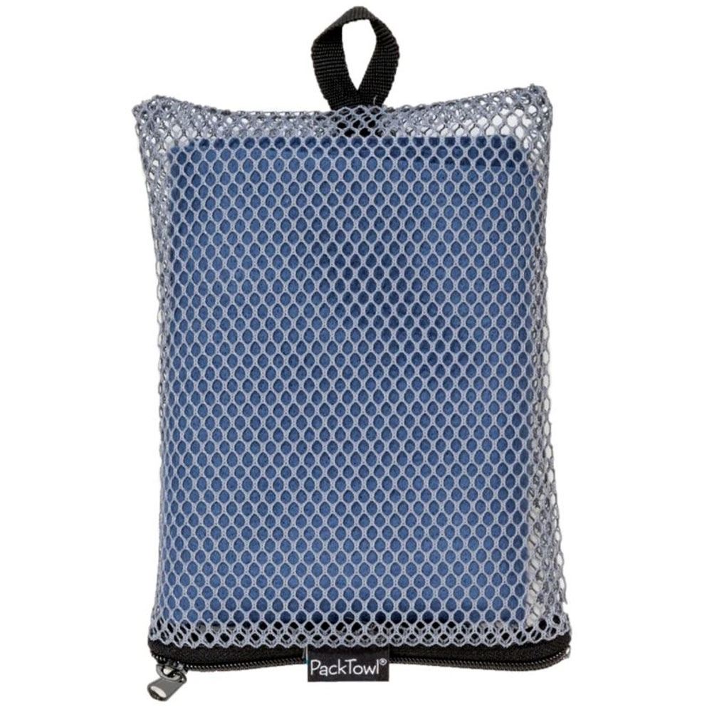 PackTowl Original Towel - Mesh zippered storage pouch