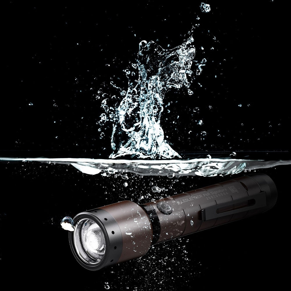 Ledlenser P6R Signature Rechargeable Flashlight