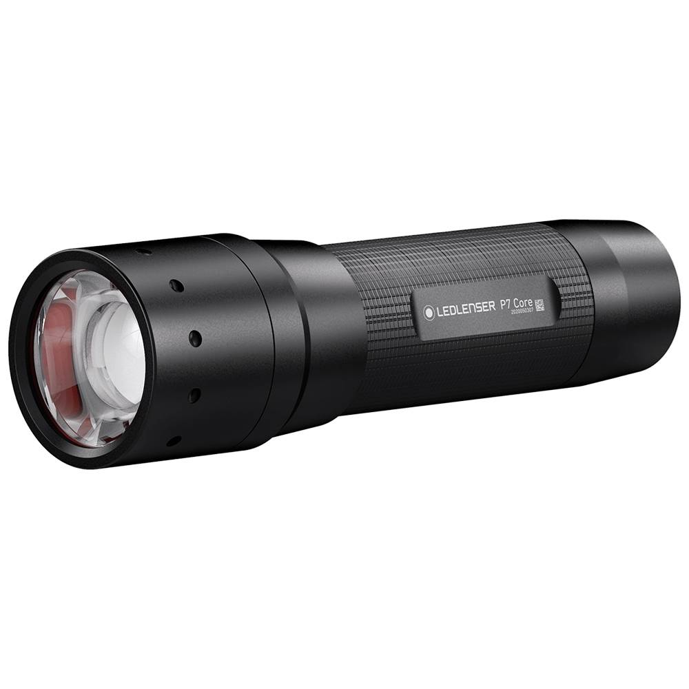 Ledlenser P7 Core Flashlight - Rapid focus technology for changing the beam with one hand