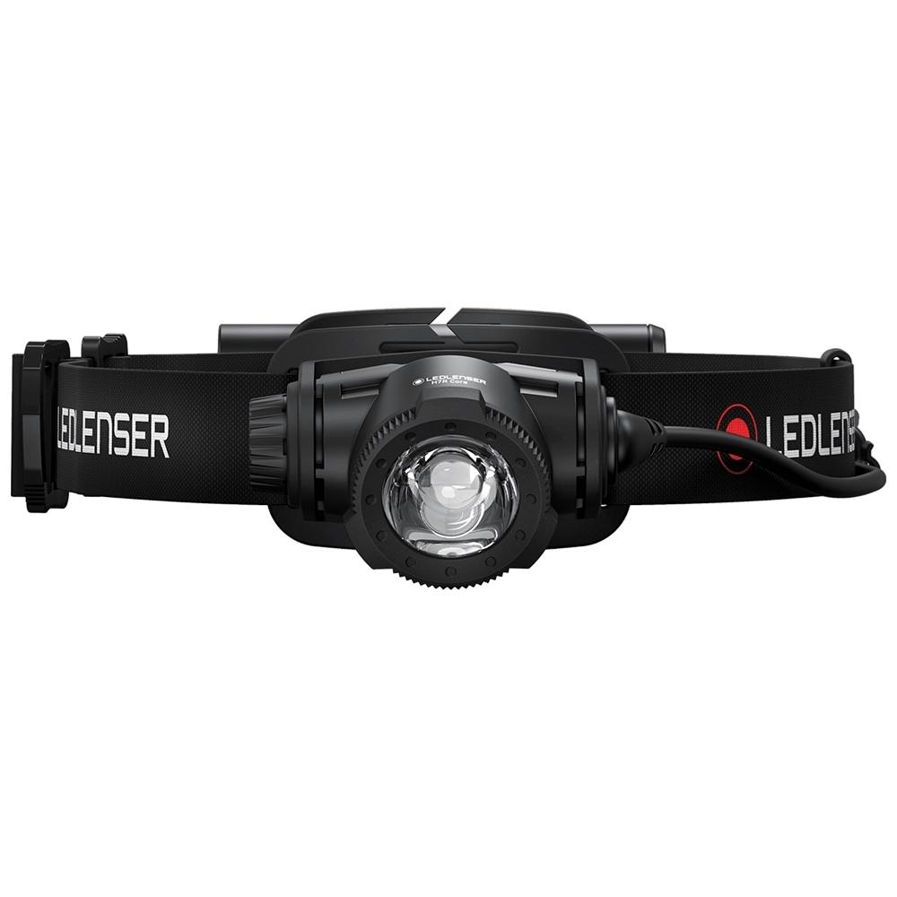 Ledlenser H7R Core Rechargeable Headlamp -  Advanced Focus System - for efficient, precise flood and spot lighting