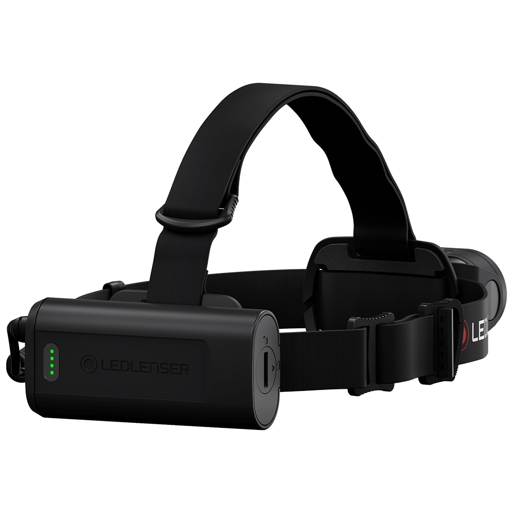 Ledlenser H19R Core Rechargeable Headlamp - Battery Indicator & case