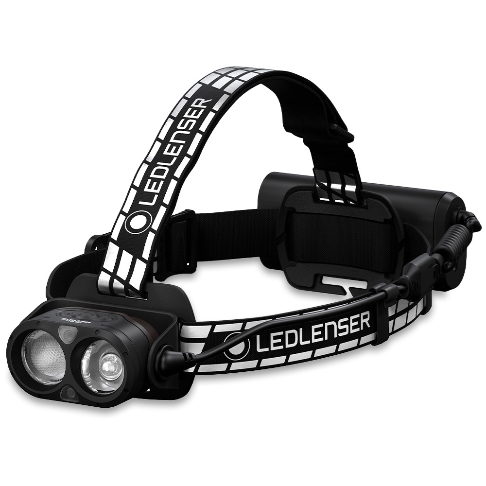 Ledlenser H19R Signature Rechargeable Headlamp - The ultimate high-end headlamp for extreme outdoor adventurers