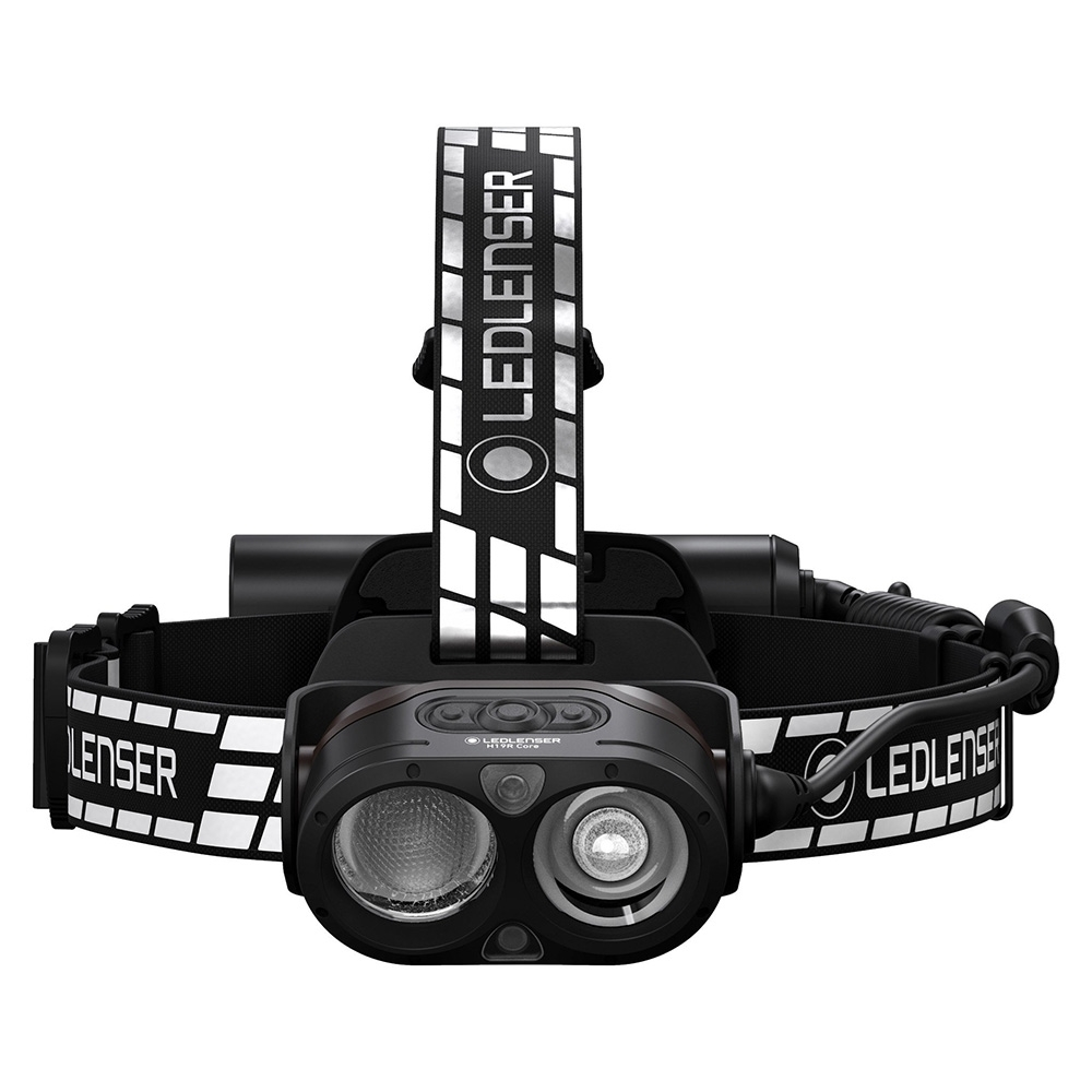 Ledlenser H19R Signature Rechargeable Headlamp - Two lens enables individually controllable flood and spotlight