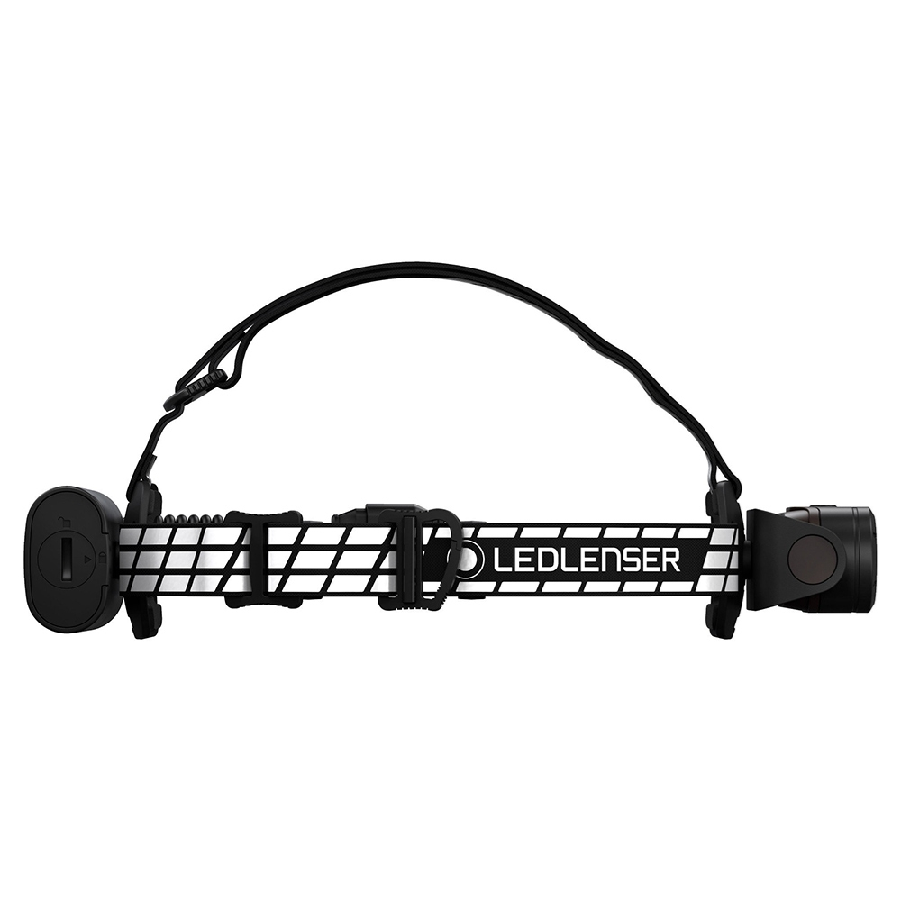 Ledlenser H19R Signature Rechargeable Headlamp - Weight is evenly distributed over the head with battery pack at the rear