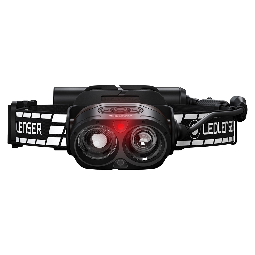 Ledlenser H19R Signature Rechargeable Headlamp - Can controlled remotely via Bluetooth and Ledlenser Connect App