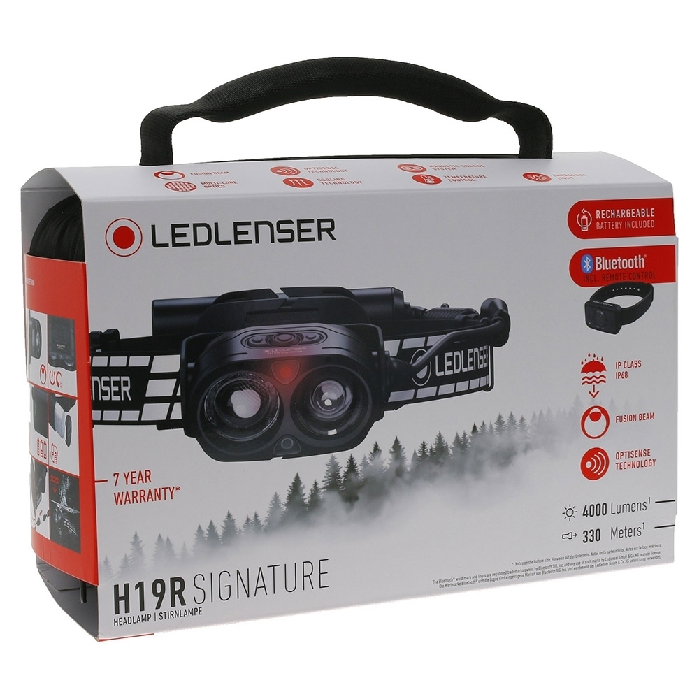 Ledlenser H19R Signature Rechargeable Headlamp - Packaging