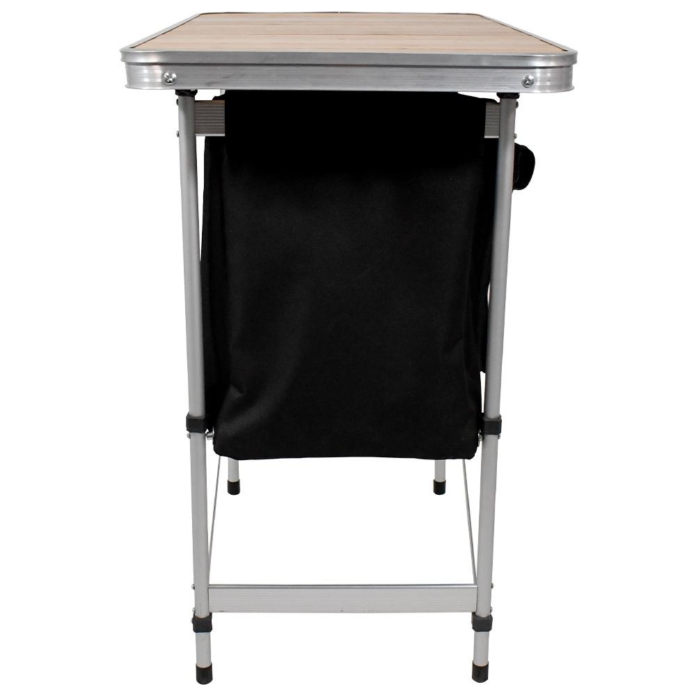 Black Wolf Camp Cupboard - Sturdy aluminium frame