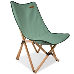 Black Wolf Beech Chair - Large Shale Green