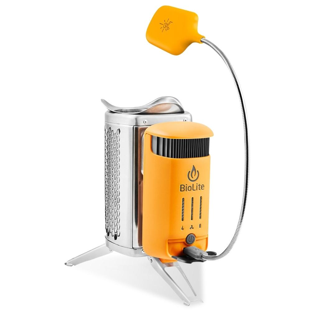 BioLite CampStove 2+ - Electricity generating wood camp stove