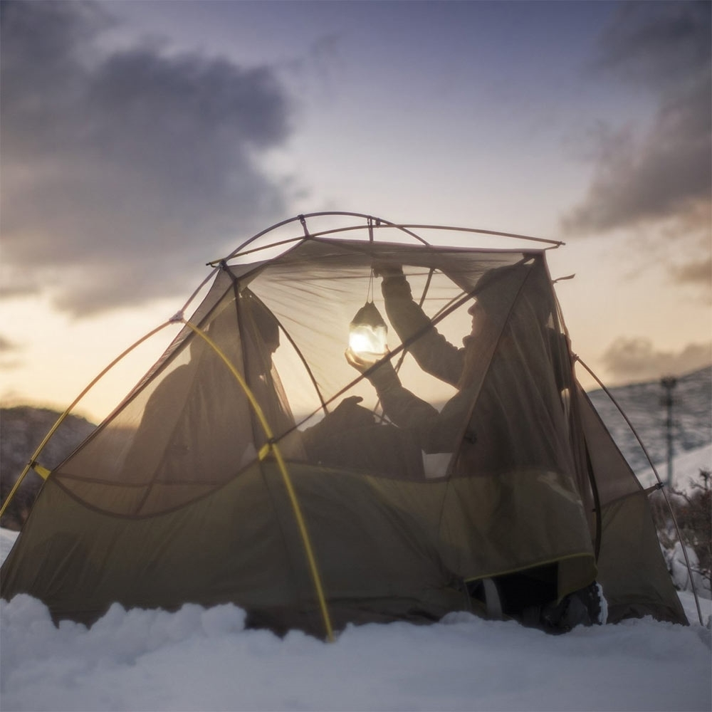 BioLite Light Diffusing Stuffsack - Drawstring enclosure makes it easy to hang from your tent