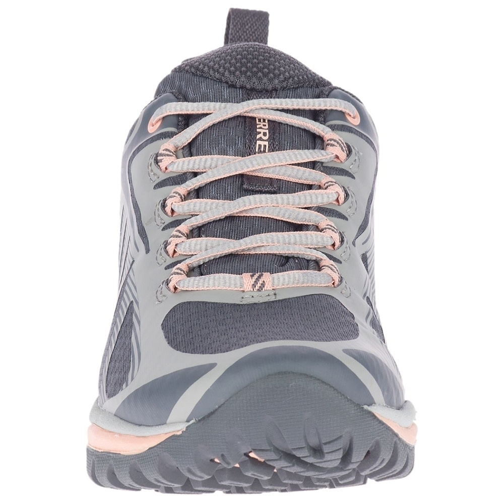 Merrell Siren Edge 3 WP Wmn's Shoe - Traditional lace closure for a secure fit