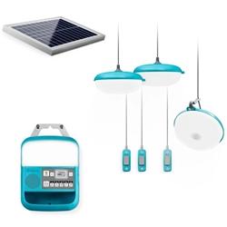BioLite SolarHome 620 - Solar-powered light, charging & radio