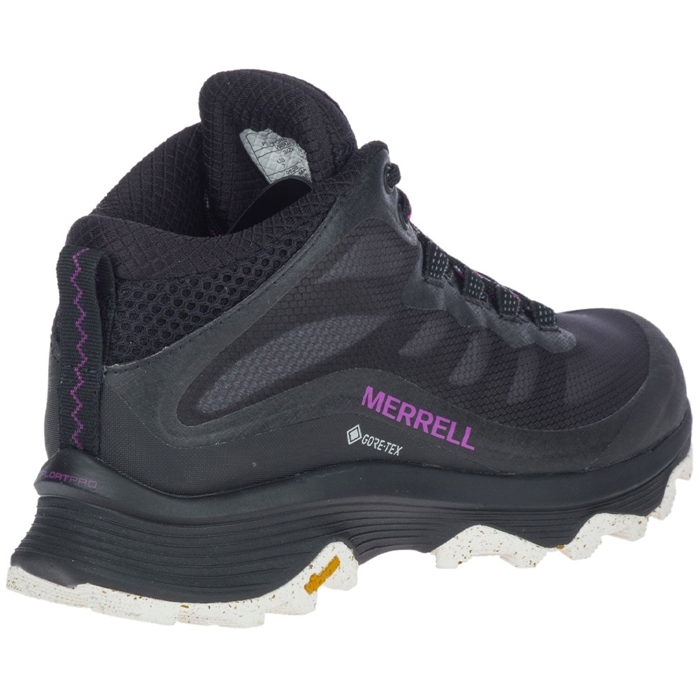 Merrell Moab Speed Mid GTX Wmn's Boot - Recycled laces, lining and footbed