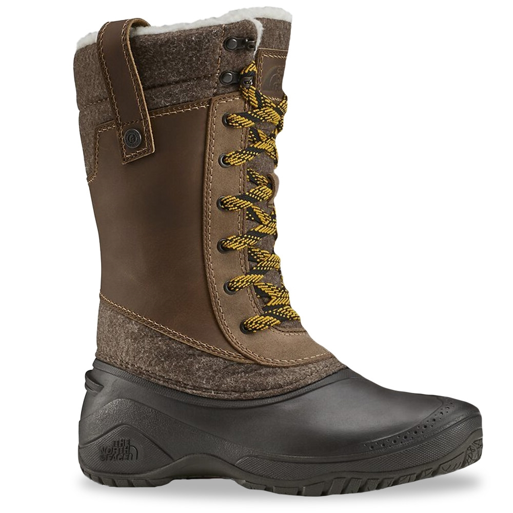 The North Face Shellista III Mid Wmn's Boot Demitasse Brown Carafe Brown
