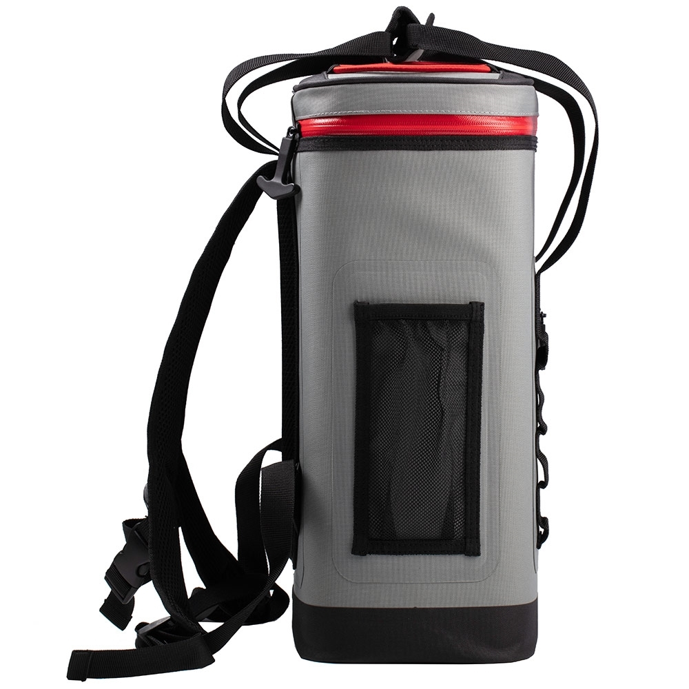 Coleman 24 Can Backpack Premium Performance Soft Cooler - Mesh pocket and bungee cord for extra storage