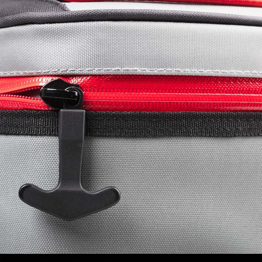Coleman 24 Can Backpack Premium Performance Soft Cooler - Water-resistant zippers with easy to open T-shaped pulls