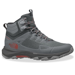 TNF Ultra Fastpack IV Mid FL Wmn's Boot High Rise Grey Horizon Red