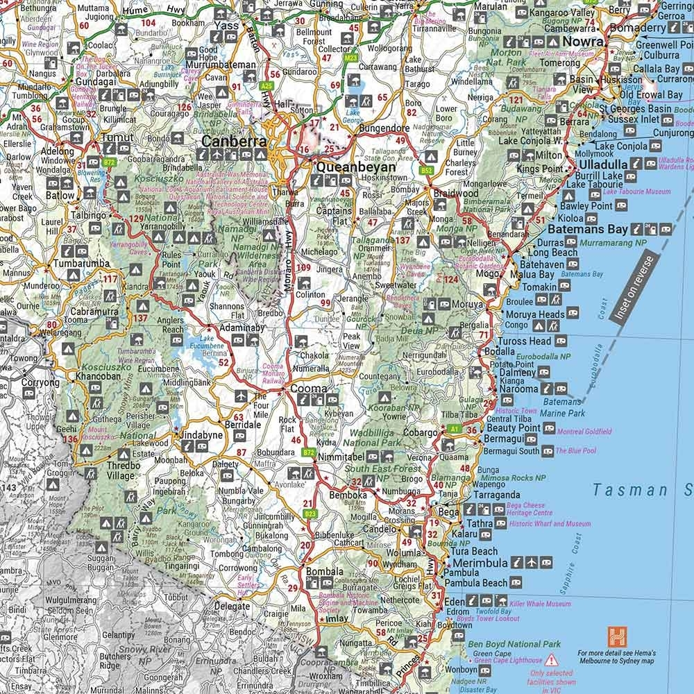 Hema New South Wales State Map - 14th Edition