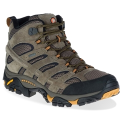 Merrell Moab 2 Leather Mid GTX Men's Boot Walnut