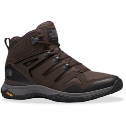 TNF Hedgehog Mid FL Men's Boot Coffee Brown TNF Black