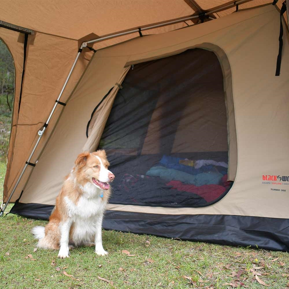 Black Wolf Turbo 300 Canvas Touring Tent