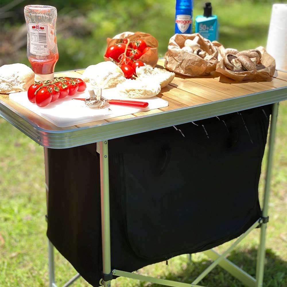 Black Wolf Camp Cupboard