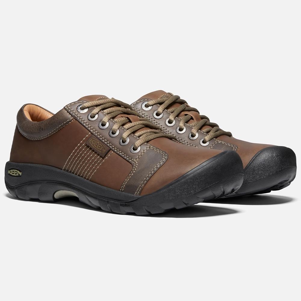 Keen Austin Men's Shoe - Full-grain and nubuck leather upper