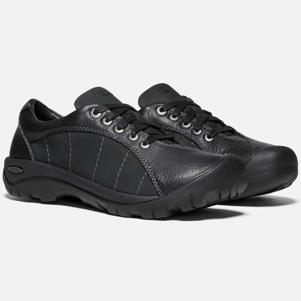 Keen Presidio Wmn's Shoe - Full-grain and nubuck leather upper