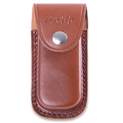 Pacific Cutlery Leather Sheath Small Brown