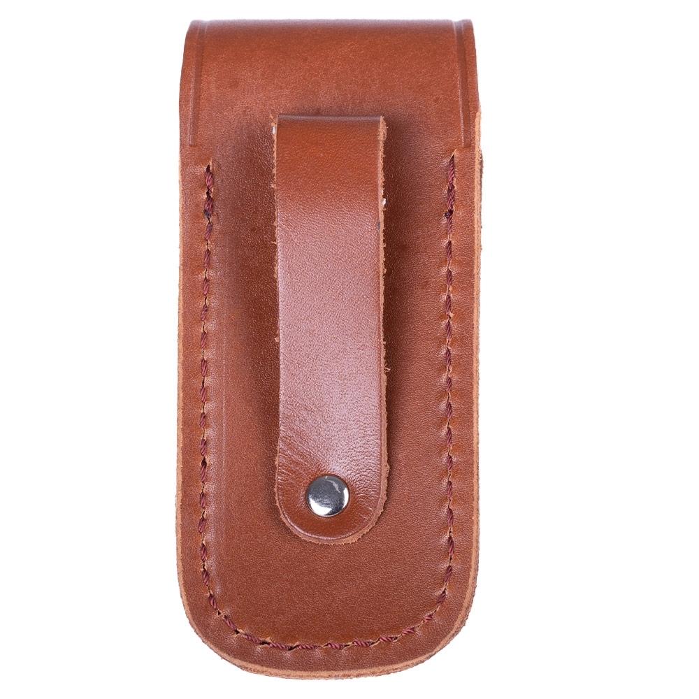Pacific Cutlery Leather Sheath Medium Brown