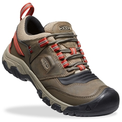 Keen Ridge Flex WP Men's Shoe Timberwolf Ketchup