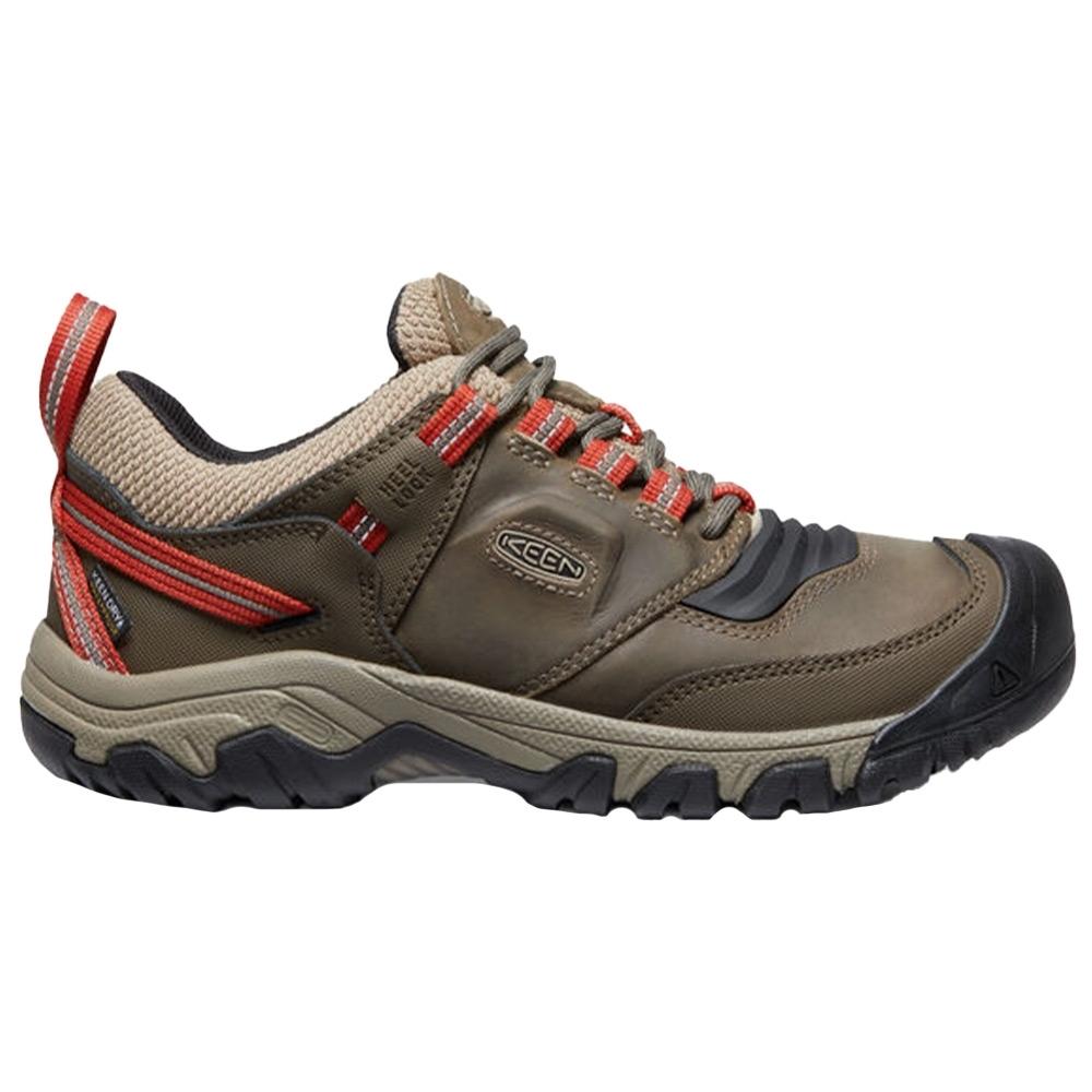 Keen Ridge Flex WP Men's Shoe - KEEN.BELLOWS FLEX technology to reduce the energy each step takes