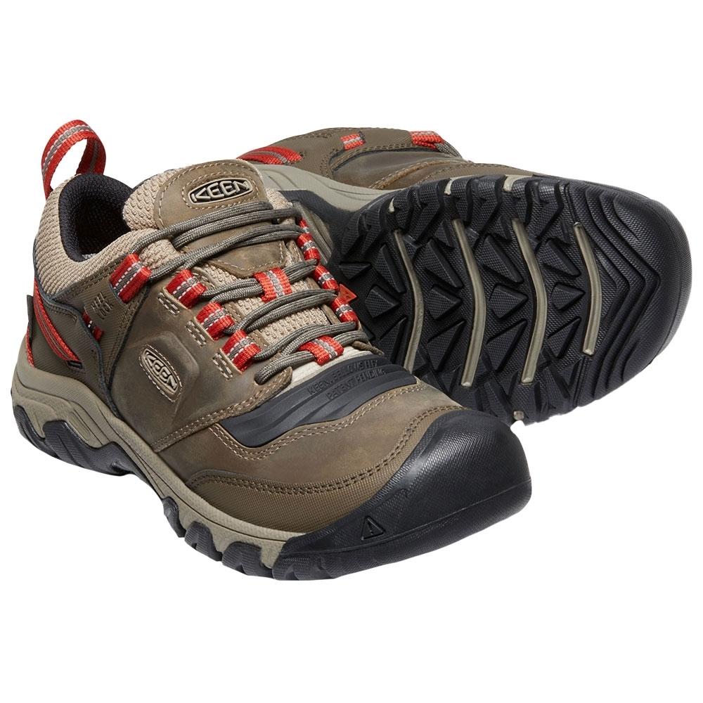 Keen Ridge Flex WP Men's Shoe - Waterproof leather and performance mesh upper