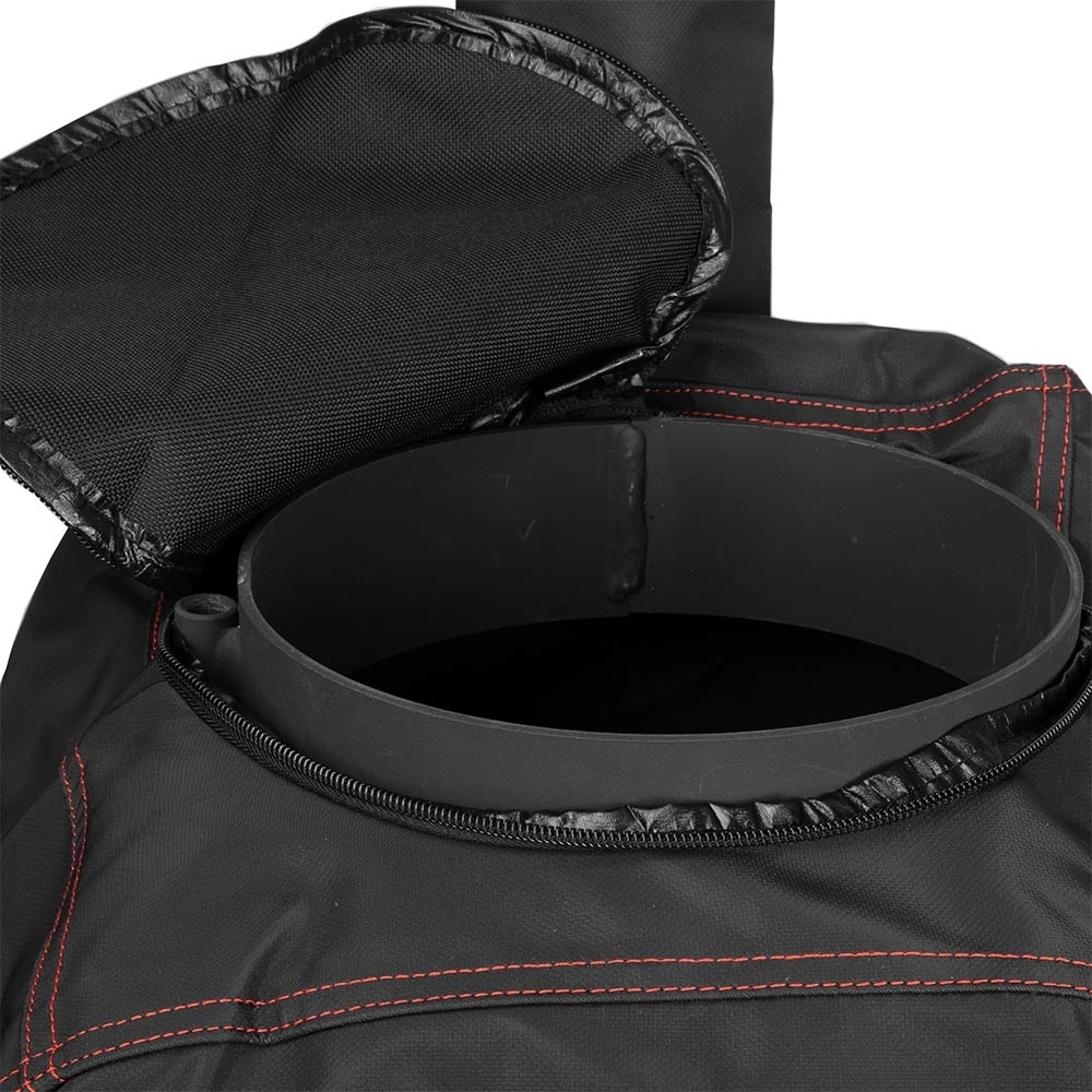 Ozpig Custom Fit Cover - Zippered chimney top to allow for extended chimney