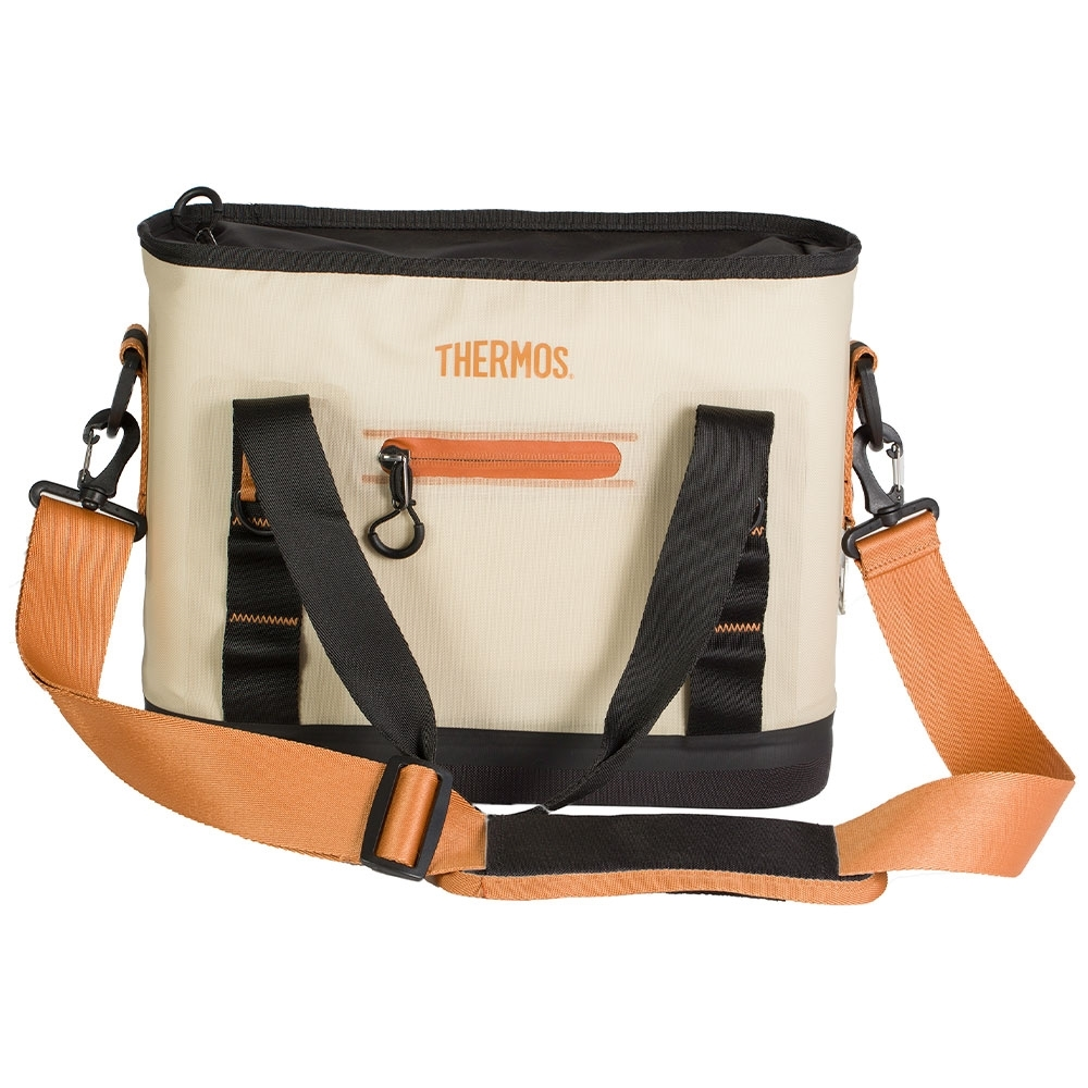 Thermos 12 Can Trailsman Insulated Cooler - Outer made from 500D polyester with matte TPU coating