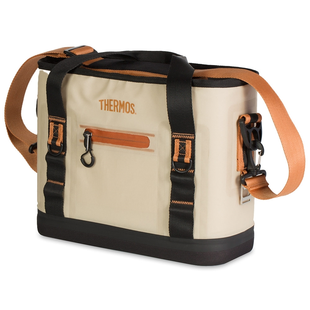 Thermos 12 Can Trailsman Insulated Cooler Cream Tan