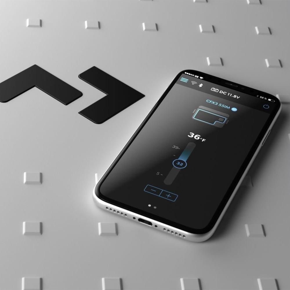 Dometic CFX3 25 Portable Fridge/Freezer 25L - CFX3 app allows temperature control via Bluetooth or WiFi