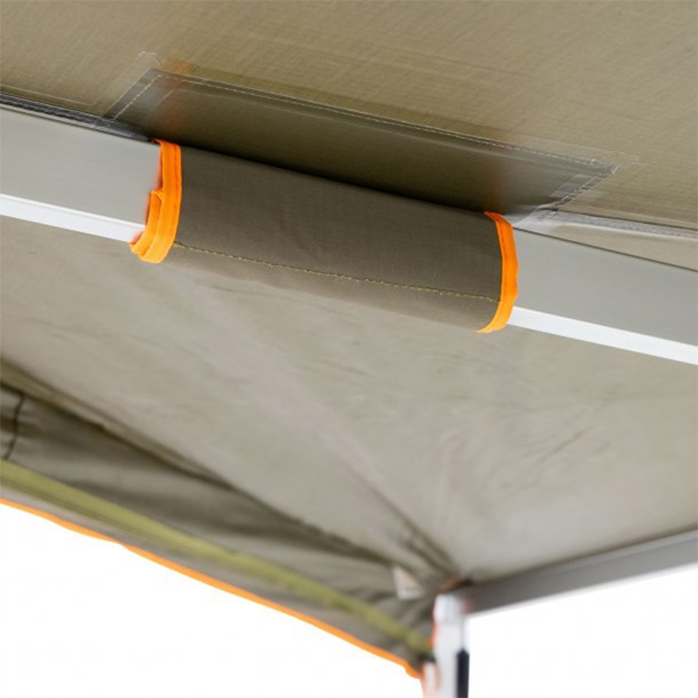 Darche Eclipse 180 Versatile Awning - 320gsm poly/cotton grid ripstop canvas