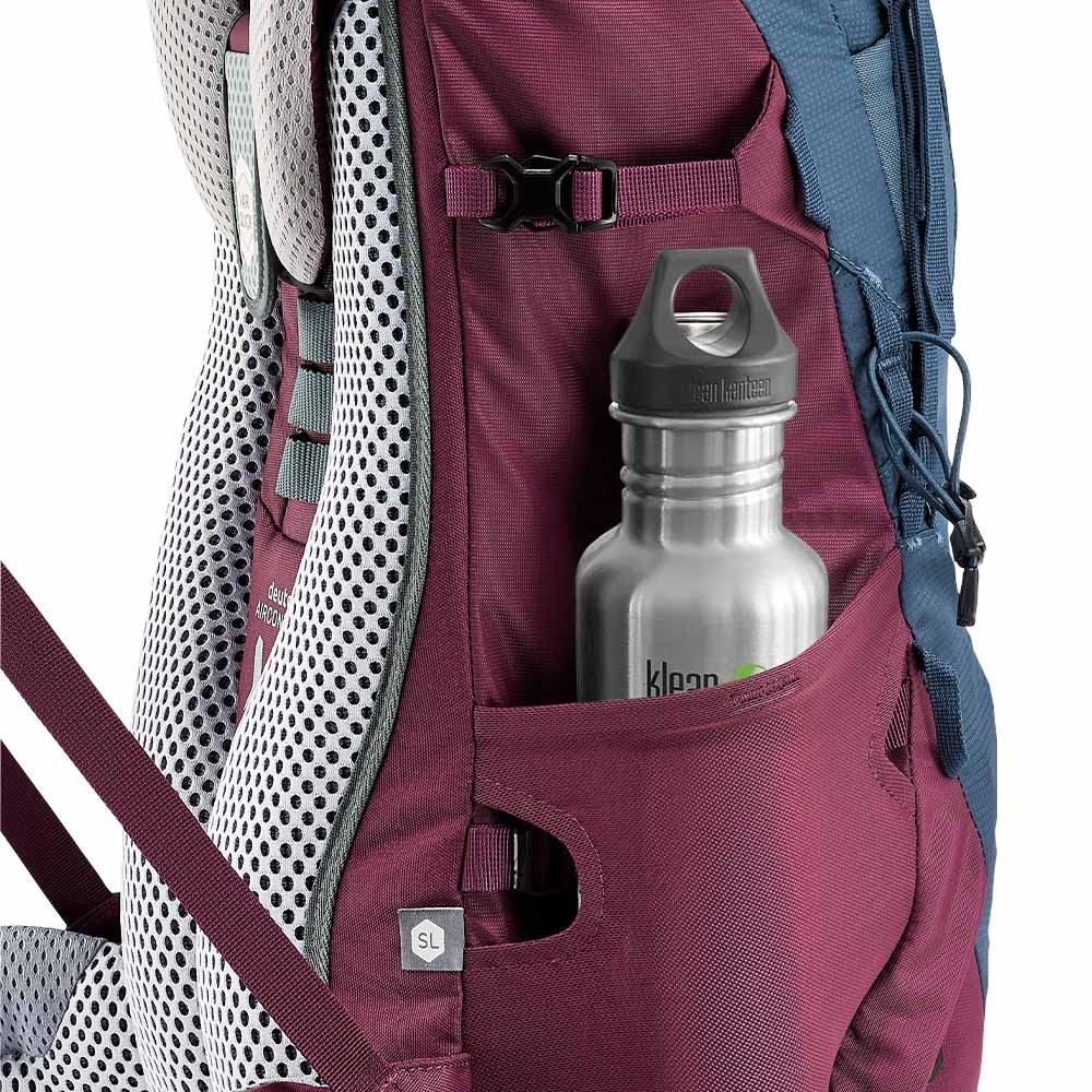 Deuter Aircontact Lite 35 + 10 SL Daypack - Stretch side pockets