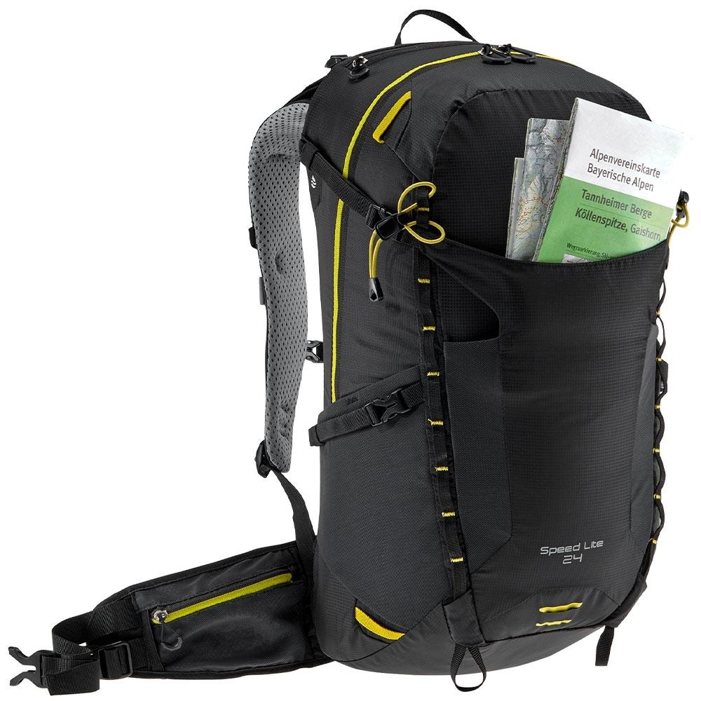 Deuter Speed Lite 24 Hiking Backpack - Stretch front pocket